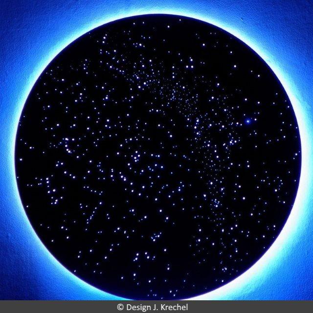 Anschlußfertige Sternenhimmel - anschließen - anbauen - fertig ...